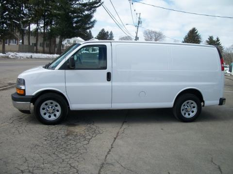 new 2011 chevrolet express 1500 awd cargo van for sale. Black Bedroom Furniture Sets. Home Design Ideas