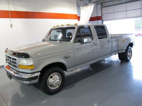Silver Metallic Ford F350 XLT Crew Cab 4x4.  Click to enlarge.