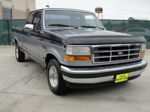 used 1995 ford f150 xlt extended cab for sale stock tska73312 dealer car. Black Bedroom Furniture Sets. Home Design Ideas