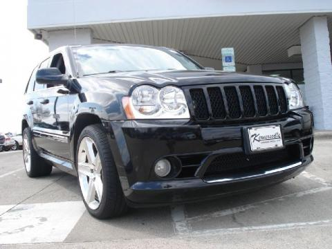 jeep cherokee srt8 black. Black 2007 Jeep Grand Cherokee