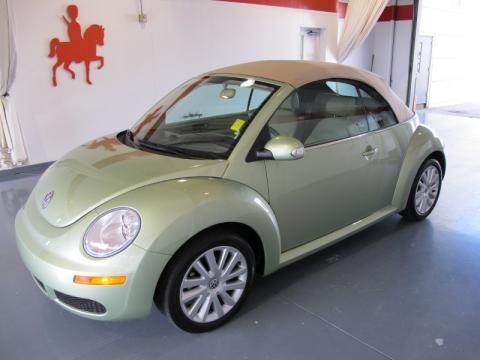 volkswagen beetle convertible green. Gecko Green 2008 Volkswagen
