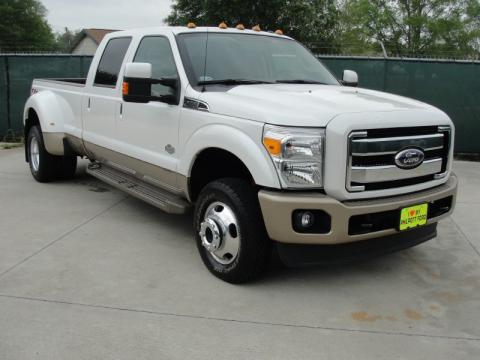 used 2011 ford f350 super duty king ranch crew cab 4x4 dually for sale stock 1407233586. Black Bedroom Furniture Sets. Home Design Ideas
