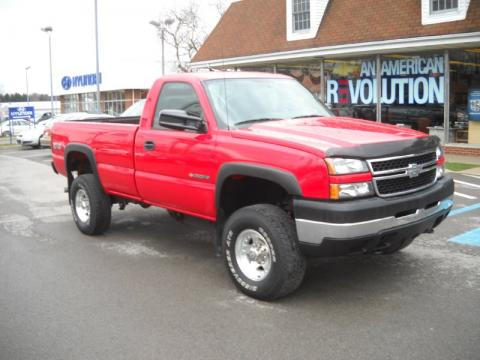 2007 Chevy Silverado Regular Cab Work Truck
