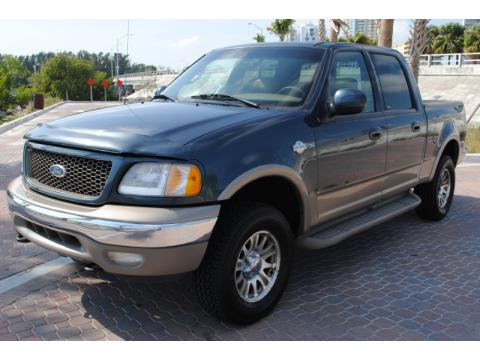 used 2002 ford f150 king ranch supercrew 4x4 for sale stock 1305798721. Black Bedroom Furniture Sets. Home Design Ideas