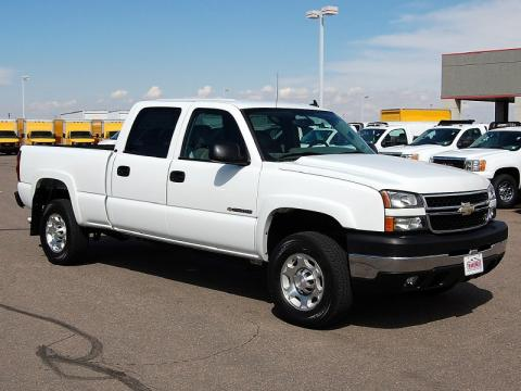 Used 2006 chevrolet silverado 2500hd lt crew cab 4x4 for sale summit white chevrolet silverado 2500hd lt crew cab 4x4 click to enlarge publicscrutiny Image collections