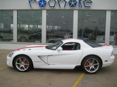 Dodge Viper Srt 2009. Viper White 2009 Dodge Viper