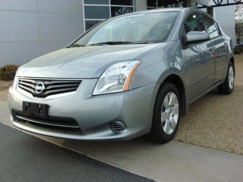 Magnetic Gray Metallic Nissan Sentra 2.0.  Click to enlarge.