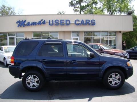 used 2004 ford escape limited 4wd for sale   stock 000h5327