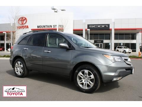 Acura Denver on Sterling Gray Metallic Acura Mdx Technology  Click To Enlarge
