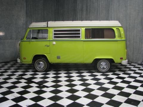 Used 1974 volkswagen bus t2 camper van for sale stock for Green light motors fremont