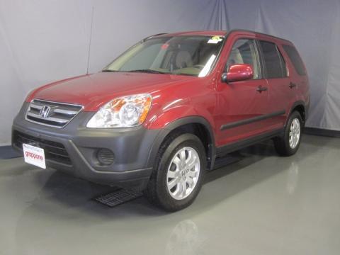 Red Honda Crv 2006. Redondo Red Pearl 2006 Honda