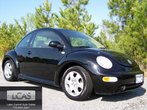 2002 Volkswagen New Beetle Gls. Black 2002 Volkswagen New