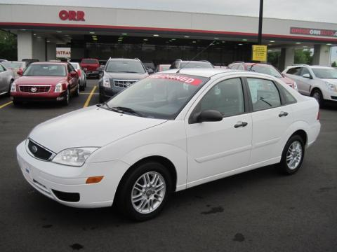 Used 2006 ford focus zx4 se sedan for sale stock 7788a dealerrevs