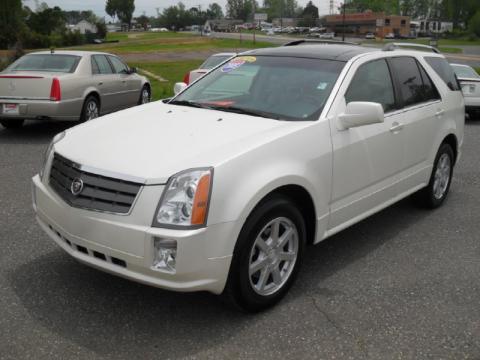 Cadillac Srx White Diamond White Diamond Cadillac Srx v8