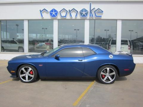 Deep Water Blue Pearl Dodge Challenger SRT8 392 Inaugural Edition.  Click to enlarge.