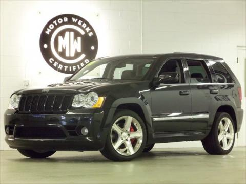 used 2010 jeep grand cherokee srt8 4x4 for sale stock w1494 dealer car ad. Black Bedroom Furniture Sets. Home Design Ideas
