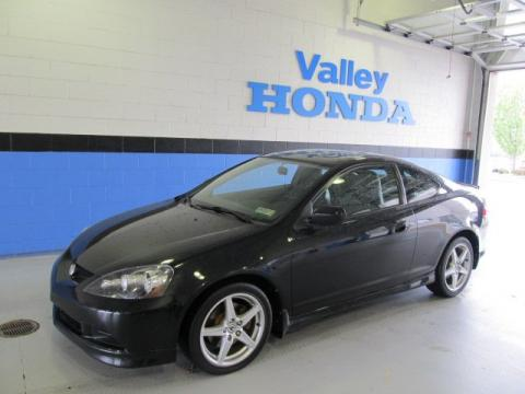 2003 Acura  Type on Nighthawk Black Pearl Acura Rsx Type S Sports Coupe  Click To Enlarge