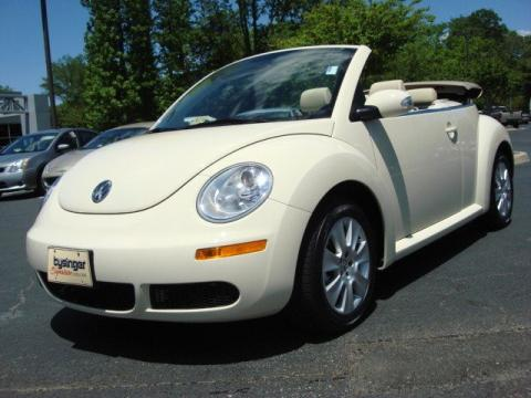 Used 2010 volkswagen new beetle 2 5 convertible for sale Tysinger motor company