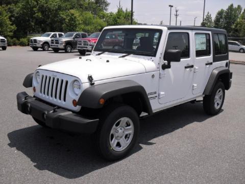 new 2011 jeep wrangler unlimited sport 4x4 right hand drive for sale stock 11233 dealerrevs. Black Bedroom Furniture Sets. Home Design Ideas