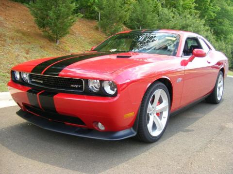 Redline 3-Coat Pearl Dodge Challenger SRT8 392.  Click to enlarge.