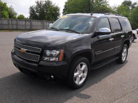 used 2008 chevrolet tahoe ltz 4x4 for sale stock 10163a dealer car ad. Black Bedroom Furniture Sets. Home Design Ideas