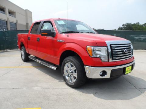 Race Red Ford F150 Texas Edition SuperCrew.  Click to enlarge.