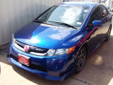 used 2008 honda civic mugen si sedan for sale stock 2112014b dealer car ad. Black Bedroom Furniture Sets. Home Design Ideas