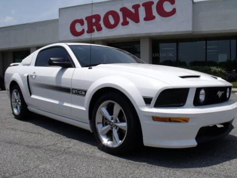 used 2007 ford mustang gt cs california special coupe for sale stock 1308217964 dealerrevs. Black Bedroom Furniture Sets. Home Design Ideas