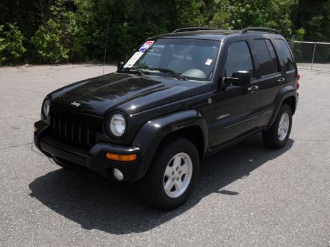 Black Clearcoat Jeep Liberty Limited X Click To Enlarge With Black Jeep  Liberty Interior