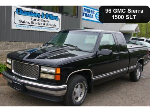 used 1996 gmc sierra 1500 slt extended cab for sale stock 11 010a dealer. Black Bedroom Furniture Sets. Home Design Ideas