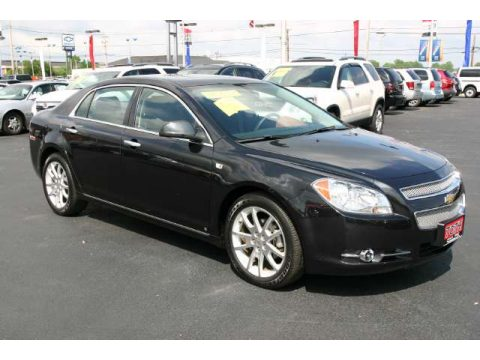 used 2008 chevrolet malibu ltz sedan for sale stock 6292 dealer car ad. Black Bedroom Furniture Sets. Home Design Ideas