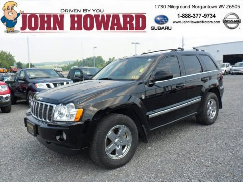 Used 2007 jeep grand cherokee overland 4x4 for sale for John howard motors morgantown wv