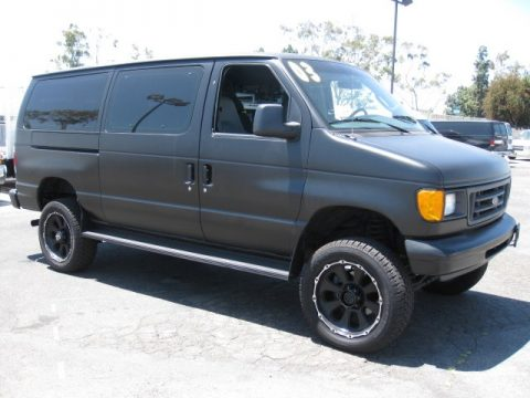 Used 2003 Ford E Series Van E350 Super Duty Commercial 4x4 ...