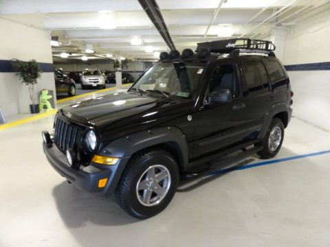 used 2005 jeep liberty renegade 4x4 for sale stock 11614a dealer car ad. Black Bedroom Furniture Sets. Home Design Ideas