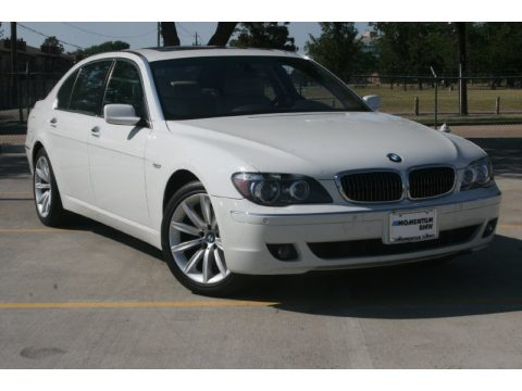 Alpine White BMW 7 Series 750Li Sedan Click To Enlarge