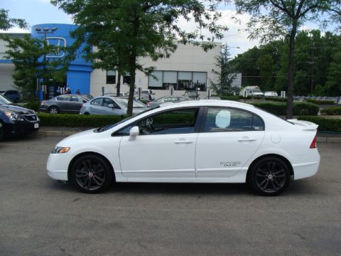 used 2008 honda civic si sedan for sale stock ph13590a dealer car ad 50191710. Black Bedroom Furniture Sets. Home Design Ideas