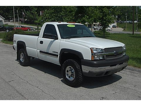 used 2004 chevrolet silverado 2500hd regular cab 4x4 for sale stock c121958. Black Bedroom Furniture Sets. Home Design Ideas