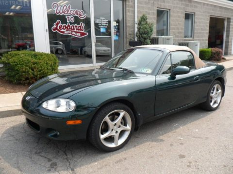 used 2001 mazda mx 5 miata ls roadster for sale stock 23870 dealer car ad. Black Bedroom Furniture Sets. Home Design Ideas