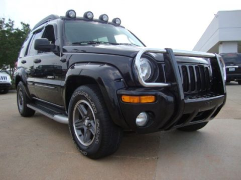 used 2003 jeep liberty renegade 4x4 for sale stock p5554 dealer car ad. Black Bedroom Furniture Sets. Home Design Ideas