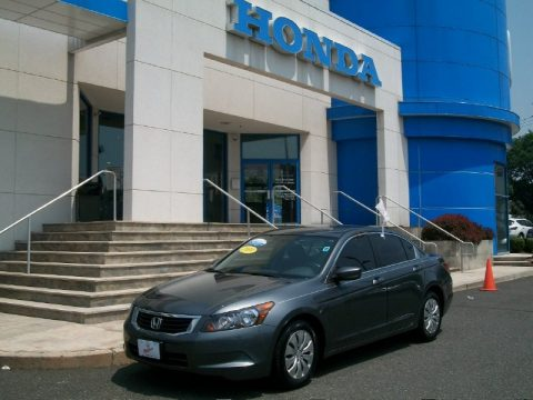 Polished Metal Metallic Honda Accord LX Sedan.  Click to enlarge.