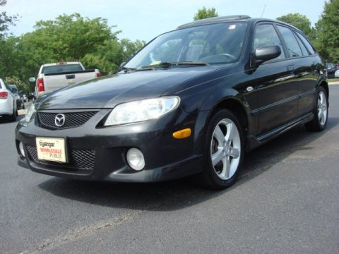 Used 2003 mazda protege 5 wagon for sale stock sa1250b Tysinger motor company