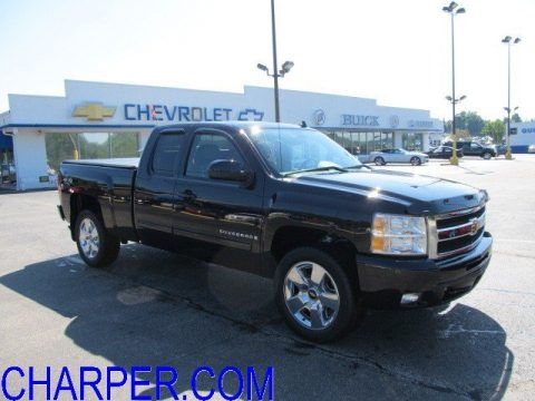 used 2009 chevrolet silverado 1500 ltz extended cab 4x4. Black Bedroom Furniture Sets. Home Design Ideas