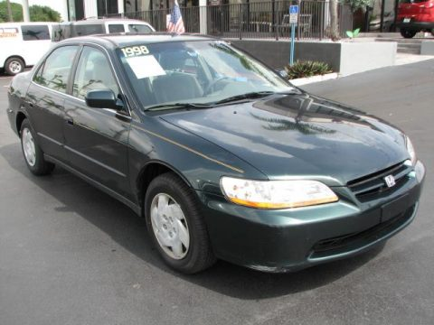 used 1998 honda accord lx v6 sedan for sale stock 15125 dealer car ad. Black Bedroom Furniture Sets. Home Design Ideas