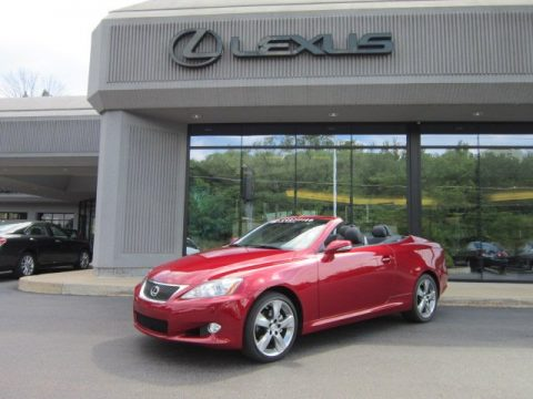 used 2010 lexus is 250c convertible for sale stock n11522a dealer car ad. Black Bedroom Furniture Sets. Home Design Ideas
