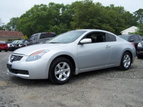 2008 nissan altima coupe silver. Black Bedroom Furniture Sets. Home Design Ideas