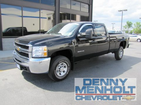used 2010 chevrolet silverado 3500hd work truck crew cab 4x4 for sale stock 26781. Black Bedroom Furniture Sets. Home Design Ideas
