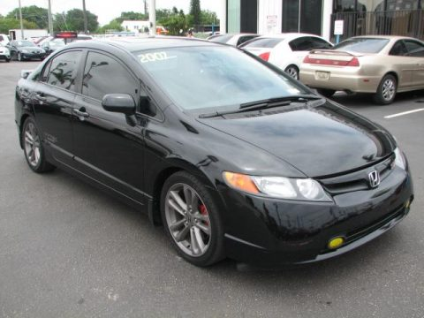 used 2007 honda civic si sedan for sale stock 15153 dealer car ad 51542283. Black Bedroom Furniture Sets. Home Design Ideas