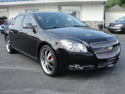 used 2009 chevrolet malibu ltz sedan for sale stock 209512 dealer car ad. Black Bedroom Furniture Sets. Home Design Ideas