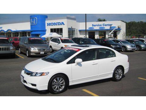 used 2010 honda civic ex l sedan for sale stock 12433a dealer car ad 51723878. Black Bedroom Furniture Sets. Home Design Ideas