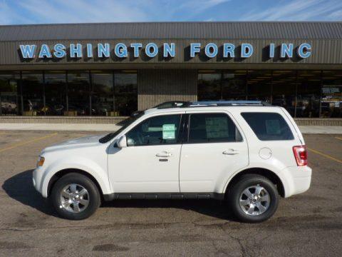 new 2012 ford escape limited v6 4wd for sale stock 000tr124 dealer car ad. Black Bedroom Furniture Sets. Home Design Ideas